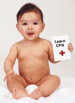 Expectant Mothers Should Learn CPR baby-cpr