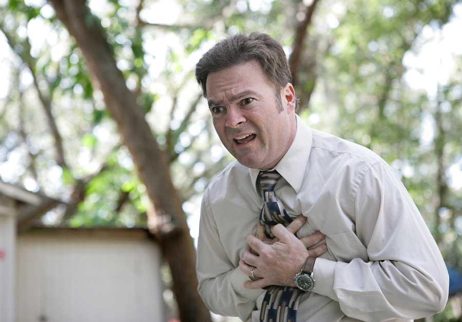 chain of survival - sudden cardiac arrest in man